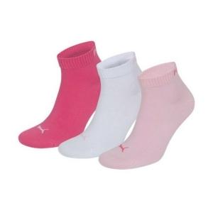 Κάλτσες PUMA ροζ/λευκές/κοραλί