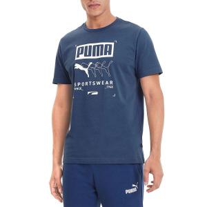 Puma Ανδρική Κοντομάνικη Μπλούζα