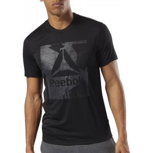 REEBOK Ανδρική Κοντομάνικη Μπλούζα T-SHIRT WOR TECH TOP GRAPHIC SLAM CY3623