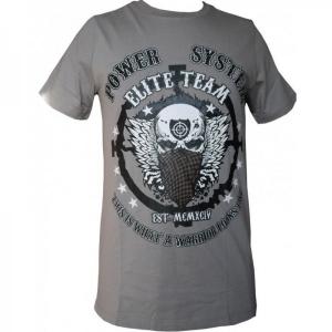 T-shirt WARRIOR (γκρι) POWER